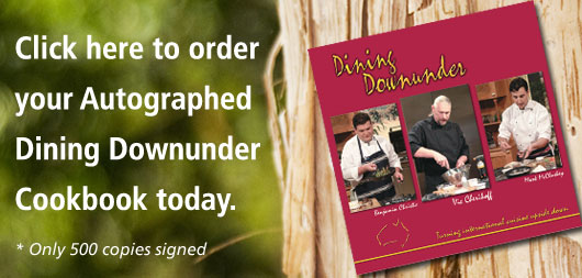 Autographed Cookbooks now available online